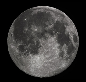 Луна всегда повернута к нам одной стороной (если не учитывать либрацию)