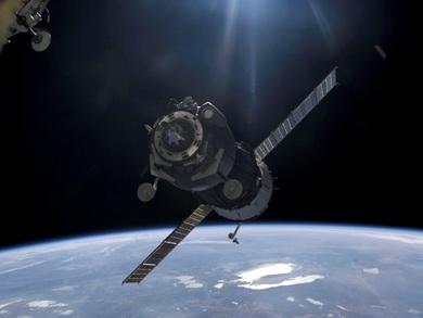 «Союз ТМА-20»приближается к МКС (Фото — futuriti.ru)