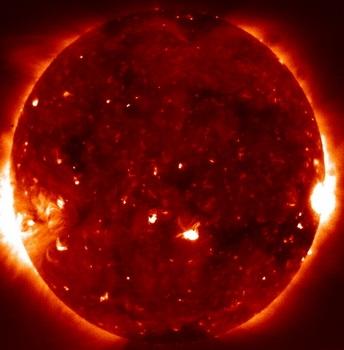 Механизмы нагрева солнечной короны будут изучены (Фото — NASA)