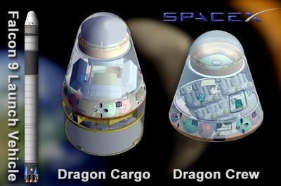 Космический аппарат «Dragon» (Изображение — militaryparitet.com)