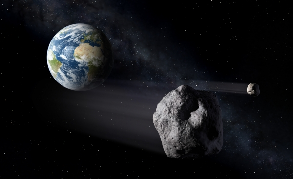 Не хотелось бы увидеть астероид так близко (space.com)