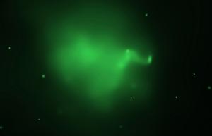 Горячий газ на снимке телескопа Чандра (hubblesite.org)