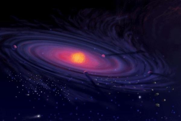центре Солнечной системы.