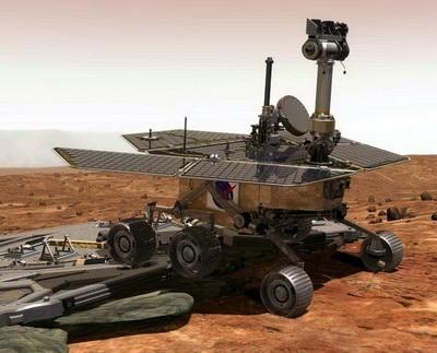 «Дух» НАСА в плену Марса (Изображение — newsquestonline.com)