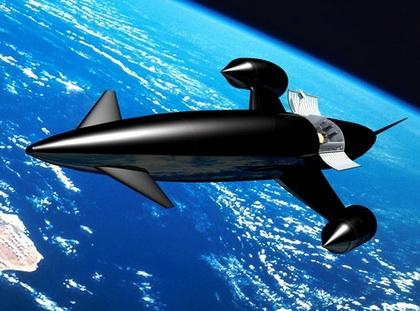 «Skylon» выходит на большую орбиту  (Изображение — dvice.com)