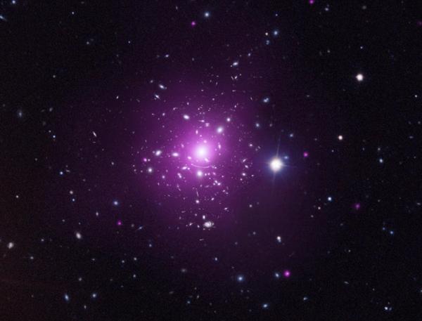 Составное изображение скопления Abell 383 (chandra.harvard.edu)