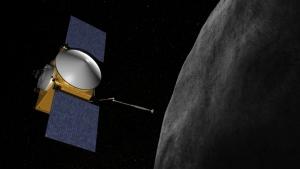 OSIRIS-Rex приближается к астероиду в изображении художника (nasa.gov)