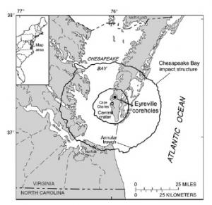 Место кратера (space.com)