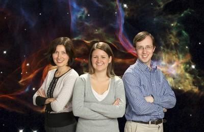 Амелия Фрейзер-Маккелви с коллегами (Фото — sciencedaily.com)