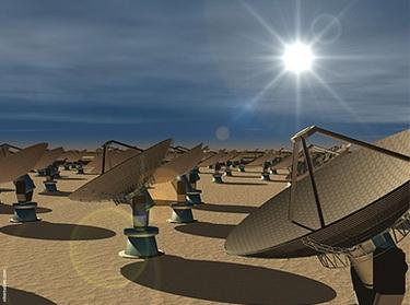 Радиотелескоп «Australian Square Kilometre Array Pathfinder» (Изображение — cloudcomputing.com)