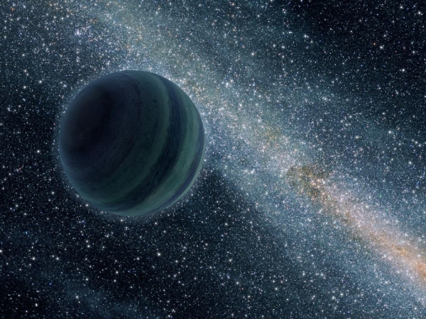 Взгляд художника на свободную планету (space.com)