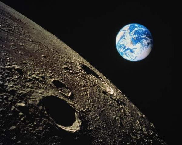 Луна (фото - http://astrogalaxy1.narod.ru/)