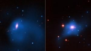 Две изученные галактики (nasa.gov)