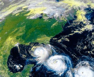 Такие снимки получают в МЧС с геостационарных спутников слежения за окружающей средой (Фото — elementy.ru)
