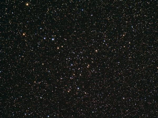 Область неба, содержащая скопление (psu.edu)