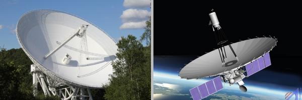 Телескоп Эффельсберга и Спектр-Р (mpg.de)