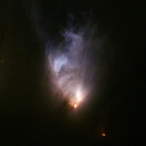Звезда и созданная ею туманность (nasa.gov)