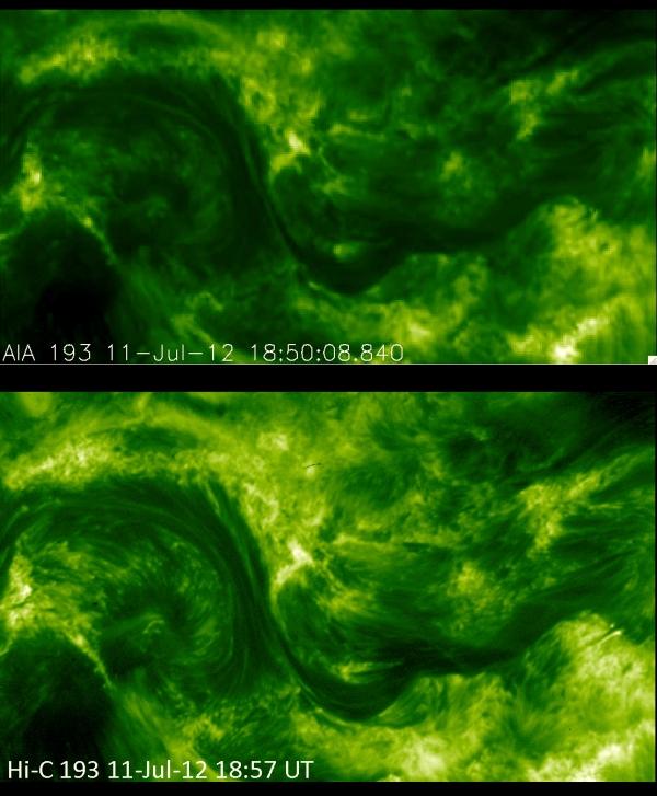 Сравнение снимков (cfa.harvard.edu)