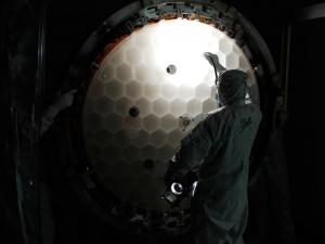 Основное зеркало телескопа (nasa.gov)