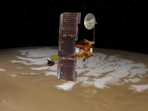 Взгляд художника на Mars Odyssey (nasa.gov)