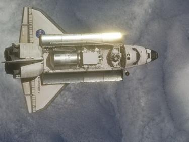 «Индевор». Взгляд из космоса (Фото — nasa.gov)