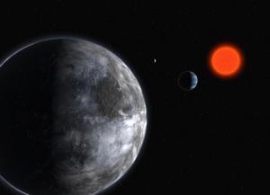 Рисунок системы Глизе 581 (space.com)