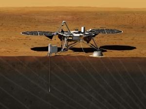 Будет определено внутреннее строения Марса (Фото — nasa.gov)