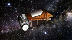 Рисунок орбитального телескопа Кеплер (space.com)