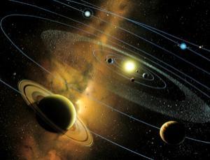 Рисунок молодой Солнечной системы (newscientist.com)