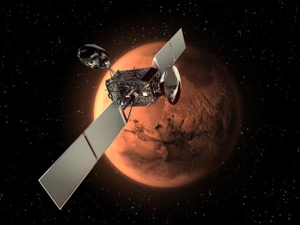 Рисунок аппарата ExoMars времен начала разработки проекта (space.com)