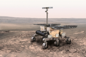 Рисунок марсохода, который будет запущен в  году (space.com)