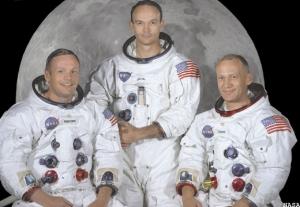 Экипаж Аполлона-11 перед полетом (space.com)