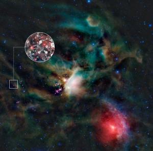 Место звезды IRAS 16293-2422 на небе (eso.org)