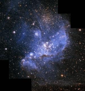 Малое магелланово облако (wikimedia.org)