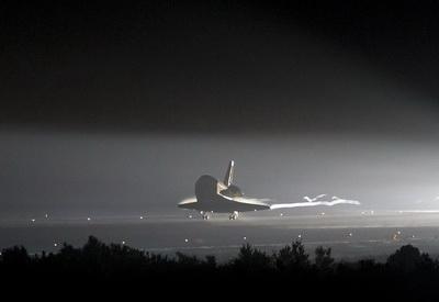 «Индевор» приземлился. В последний раз (Изображение — nasa.gov)