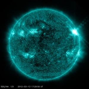 Буря на Солнце (wikipedia.org)