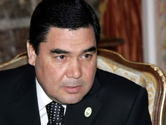 Гурбангулы Бердымухамедов, президент Туркменистана (Изображение — AFP)
