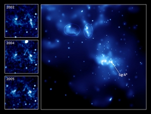 Стрелец А*, черная дыра в центре Млечного пути (wikipedia.org)