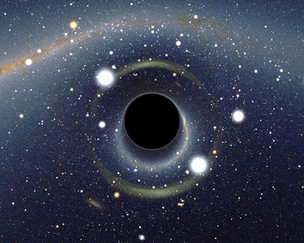 Моделирование черной дыры в Большом магеллановом облаке (wikipedia.org)