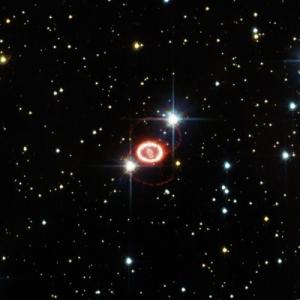 Остатки сверхновой 1987A (esa.int)