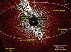 Планета на снимке Хаббла (nasa.gov)
