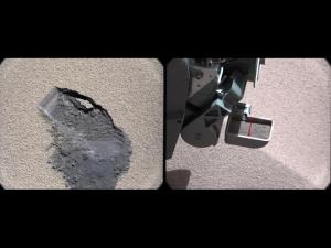 Место и аппарат для забора грунта (nasa.gov)