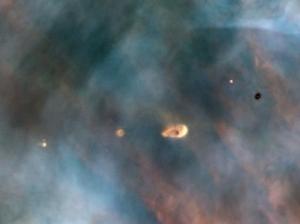 Протопланетный диск в туманности Ориона (wikipedia.org)