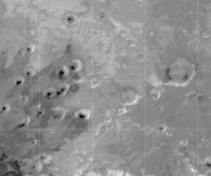 Место, в котором аппарат нашел водяной пар и метан (space.com)
