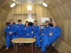 Экипаж 14-суточной экспедиции (фото - http://mars500.imbp.ru)