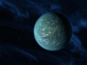 Рисунок планеты в зоне обитания (nasa.gov)