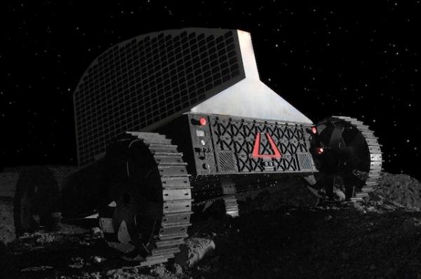 Будущий аппарат по добыче воды на Луне (astrobotic.net)