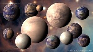 Рисунки возможных планет (space.com)