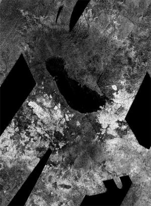 Море на южном полюсе Титана (nasa.gov)