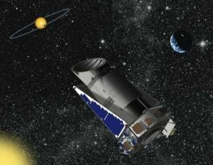 Рисунок телескопа Кеплер (space.com)
